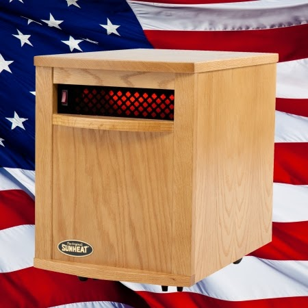 Free Shipping on Sunheat Portable Electric Infrared Heaters